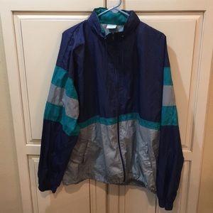 Other - Vintage 80s 90s windbreaker jacket xl